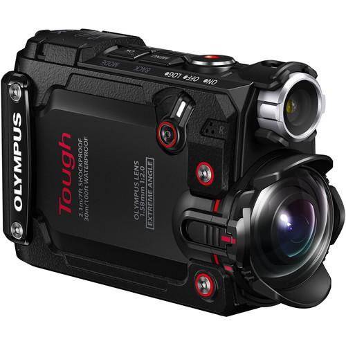 Olympus TG-Tracker Action Kamera schwarz