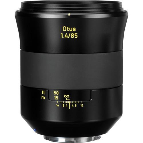 Zeiss Otus ZE 85mm F1.4 Objektiv - Frontansicht
