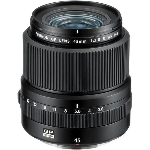 Fujifilm GF 45mm f/2.8 R WR Objektiv - Frontansicht