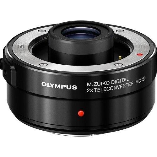 Olympus MC-20 M.Zuiko Digital 2x Teleconverter - Frontansicht