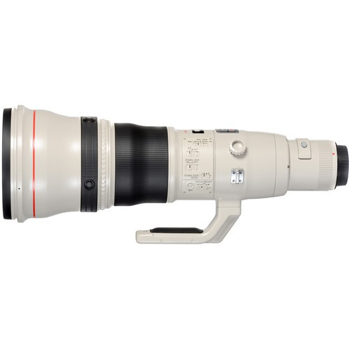 Canon EF 800mm f/5.6 L IS USM Objektiv - Seitenansicht