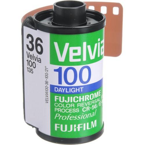Fujifilm Fujichrome 135-36 Velvia 100 Diafilm (RVP 100)