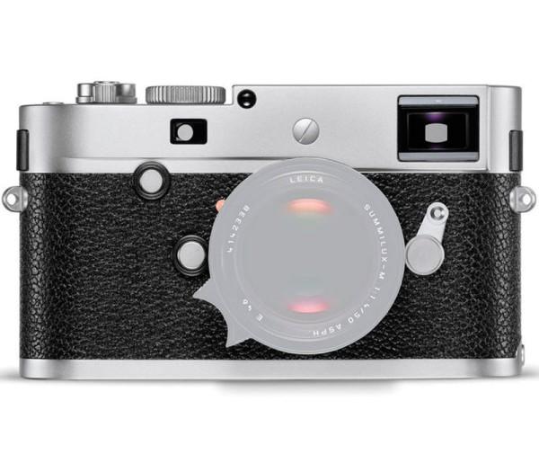 Leica M-P Typ 240 Gehäuse silber - Frontansicht