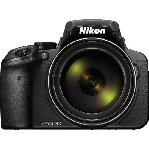 Nikon Coolpix P900 schwarz - Frontansicht