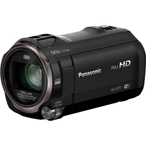 Panasonic HC-V777 Camcorder - Frontansicht