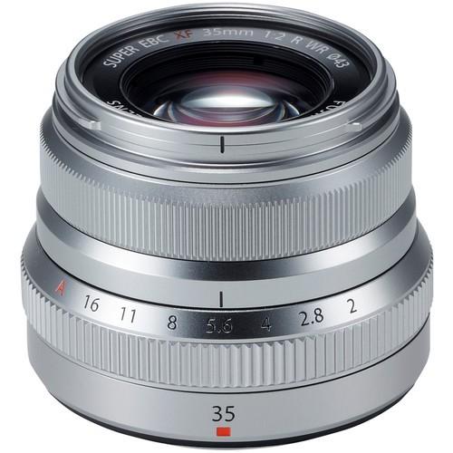 Fujifilm XF 35mm f/2 R WR Objektiv silber