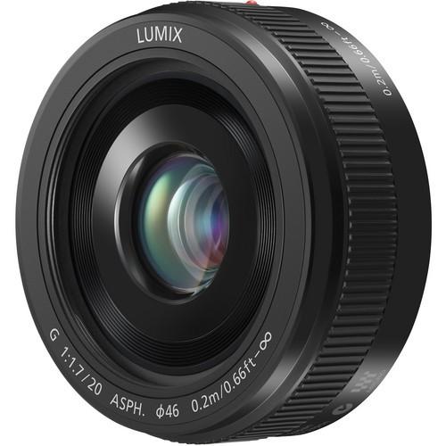 Panasonic Lumix G 20mm f/1.7 II ASPH. Objektiv