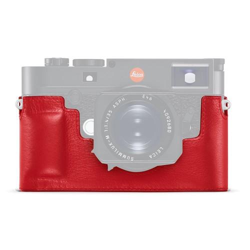 Leica Leder Protektor rot für Leica M10 24022