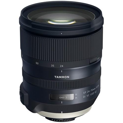 Tamron SP AF 24-70mm f/2.8 G2 Di VC USD Objektiv - Frontansicht