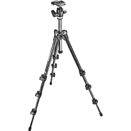 Manfrotto MK293C4-A0RC2 Carbon Stativ mit 494RC2 Kugelkopf