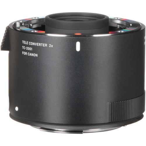 Sigma Telekonverter 2x TC-2001 für Canon - Frontansicht