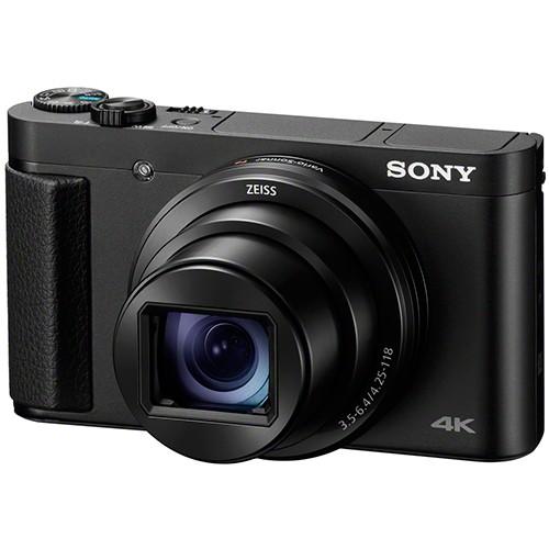 Sony DSC-HX95 Kompaktkamera - Schrägansicht