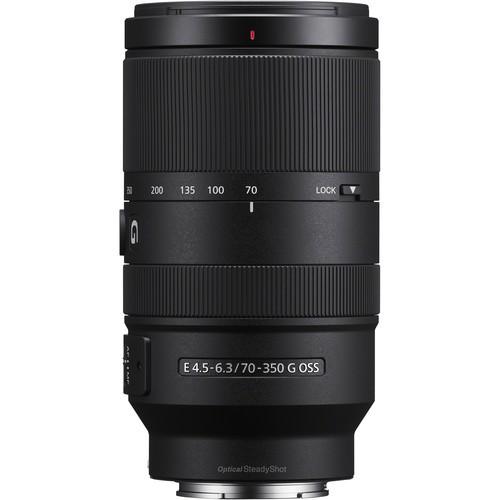 Sony E 70-350mm f/4.5-6.3 G OSS Objektiv