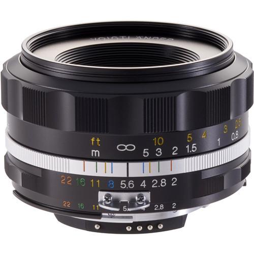 Voigtlander Ultron Asph. 40mm f/2.0 SL Objektiv für Nikon F
