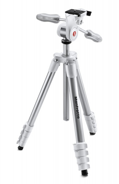 Manfrotto Compact Advanced Dreibeinstativ weiß