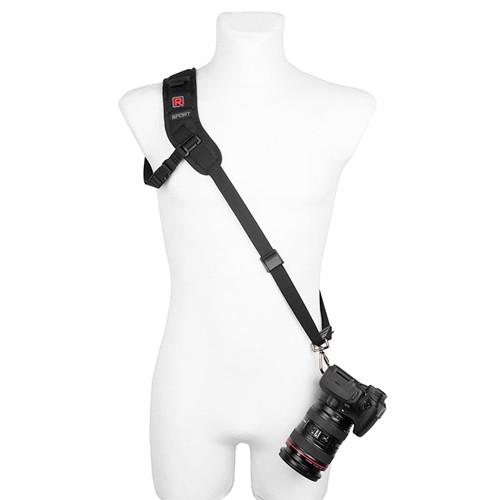 Blackrapid Slim Sport RS-Sport 2L Kameragurt für Linkshänder - Frontansicht