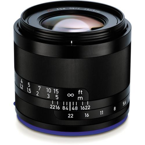 ZEISS Loxia 50mm f/2 Planar T* Objektiv für Sony E - Frontansicht