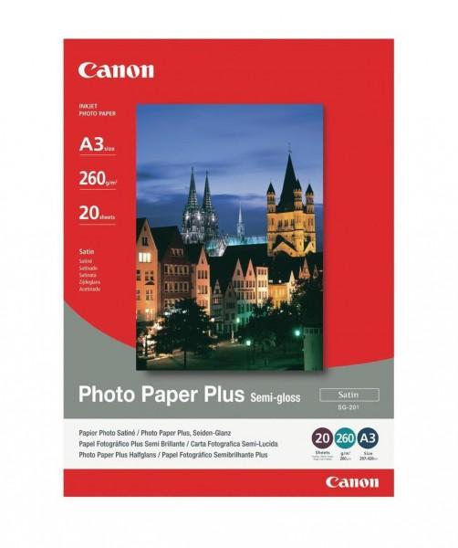 Canon SG-201 Fotopapier seidenglanz A3+ 20 Blatt (260g/qm)
