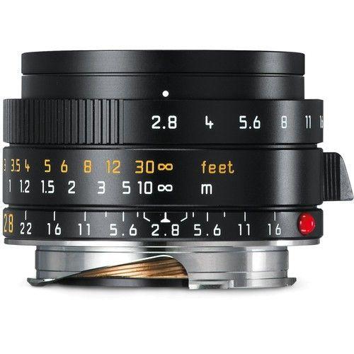 Leica Elmarit-M 28mm f/2.8 ASPH. Objektiv (11677) - Frontansicht