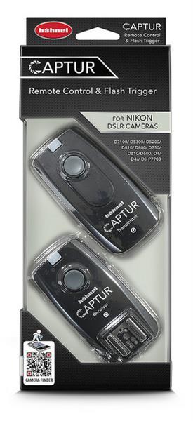 Hähnel Captur Funk-Fernauslöser für Nikon - Verpackt