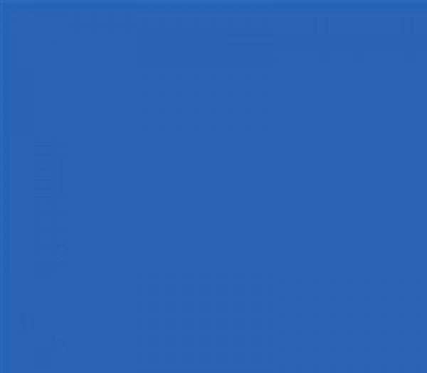 Multiblitz Hintergrund 1.35x11m blau BD136A2 - Frontansicht