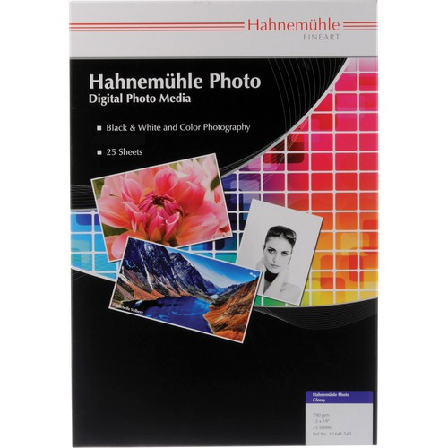 Hahnemühle Photo Glossy 260g Papier A3+ 25 Blatt - Symbolbild