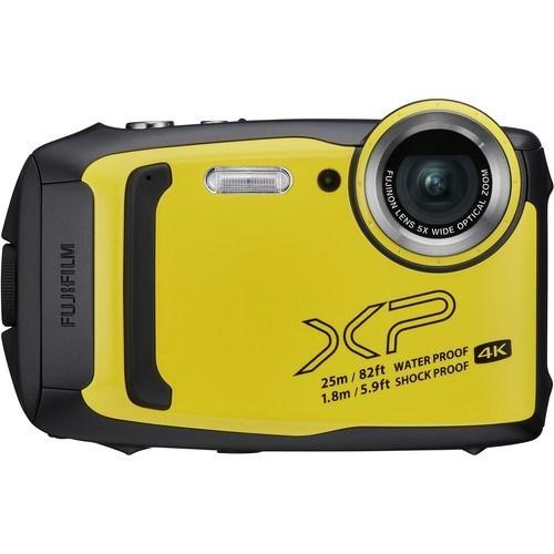 Fujifilm FinePix XP140 gelb - Frontansicht