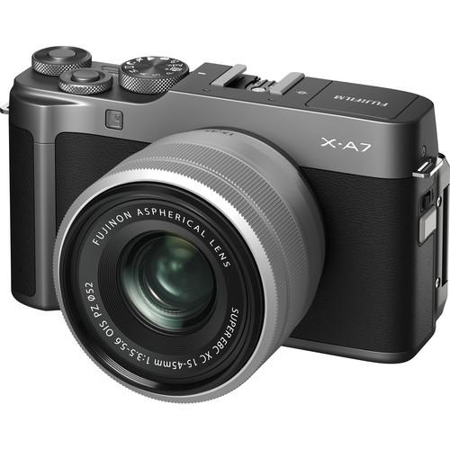 Fujifilm X-A7 Kit - Schrägansicht