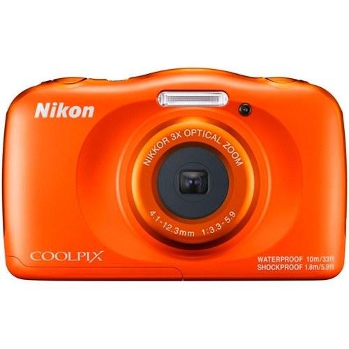 Nikon Coolpix W150 orange - Frontansicht