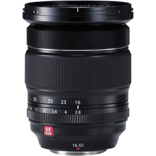 Fujifilm XF 16-55mm f/2.8 R LM WR Objektiv - Frontansicht
