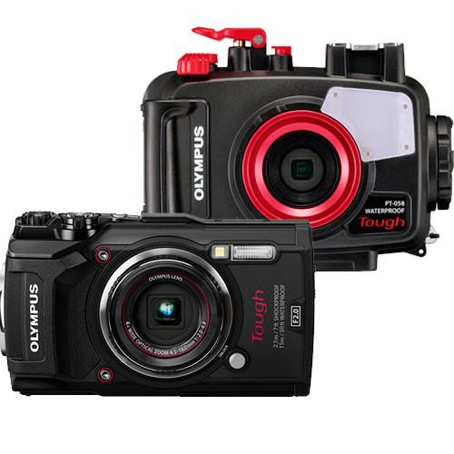 Olympus TG-5 Outdoor Kamera - Lieferumfang