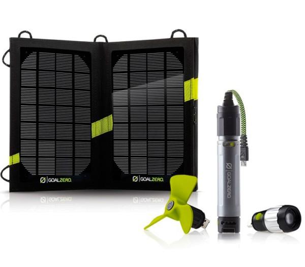 GoalZero Switch10 Solar Ladegerät - Frontansicht