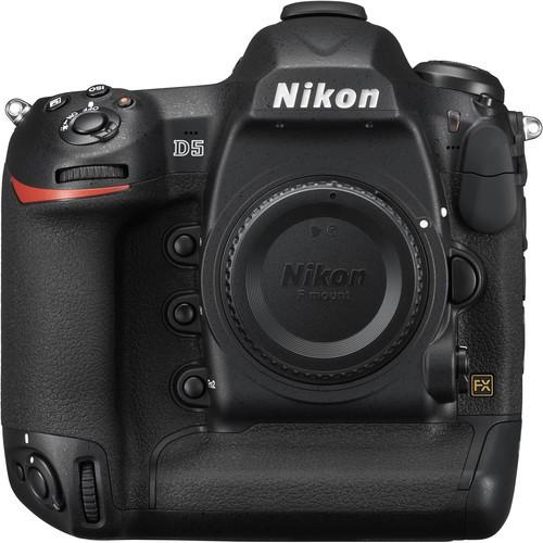 Nikon D5 Gehäuse (CF) - Frontansicht
