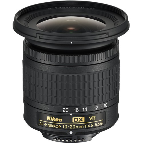 Nikon AF-P DX 10-20mm f/4.5-5.6 G VR Objektiv - Frontansicht
