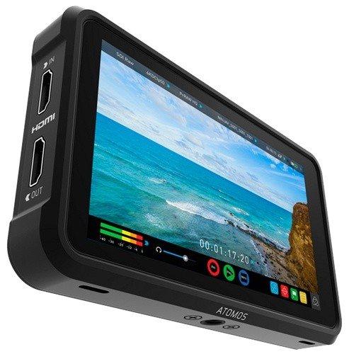 """Atomos Ninja V 5"""" 4K HDMI Recorder - Schrägansicht"""