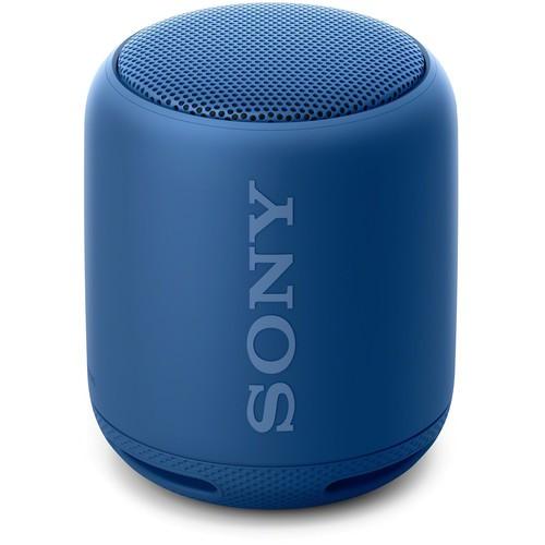 Sony SRS-XB10 Bluetooth Lautsprecher blau - Frontansicht