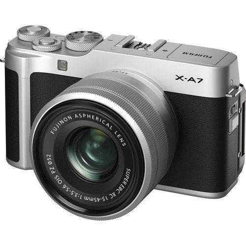 Fujifilm X-A7 Kit - Frontansicht