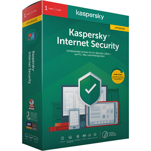 Kaspersky Internet Security 2020 Upgrade 1 Gerät / 1 Jahr