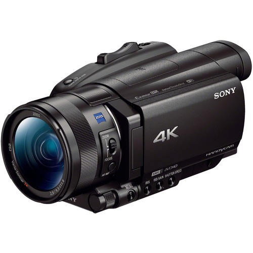 Sony FDR-AX700 4K HDR Camcorder - Frontansicht