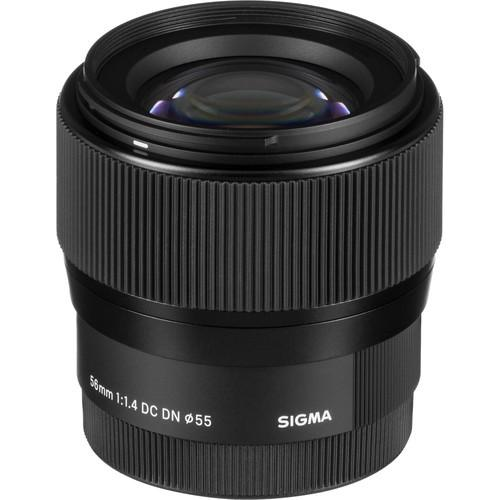 Sigma AF 56mm f/1,4 DC DN Contemporary EF-M - Frontansicht