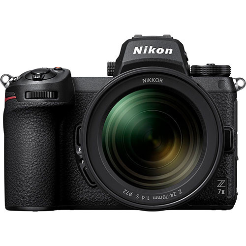 Nikon Z7II Kit mit Nikon Z 24-70mm f/4 S und FTZ-Adapter