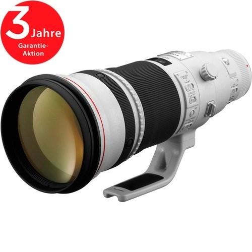 Canon EF 500mm f/4 L IS II USM Objektiv - Schrägansicht