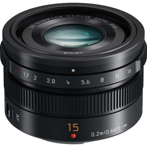 Panasonic Lumix G Leica DG Summilux 15mm f/1.7 ASPH. Objektiv