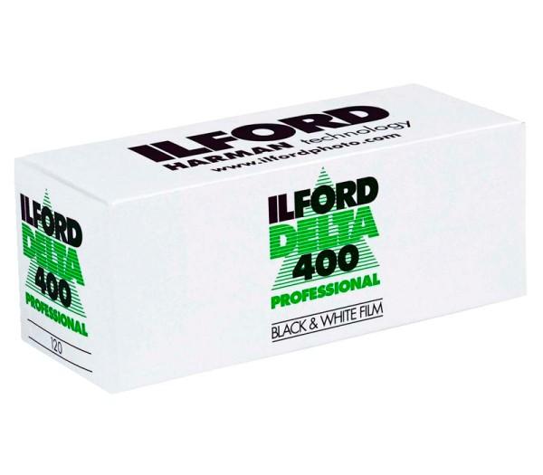 Ilford Delta 400 Professional Rollfilm 120 - Frontansicht