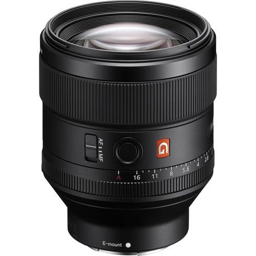 Sony FE 85mm f/1.4 GM Objektiv - Frontansicht