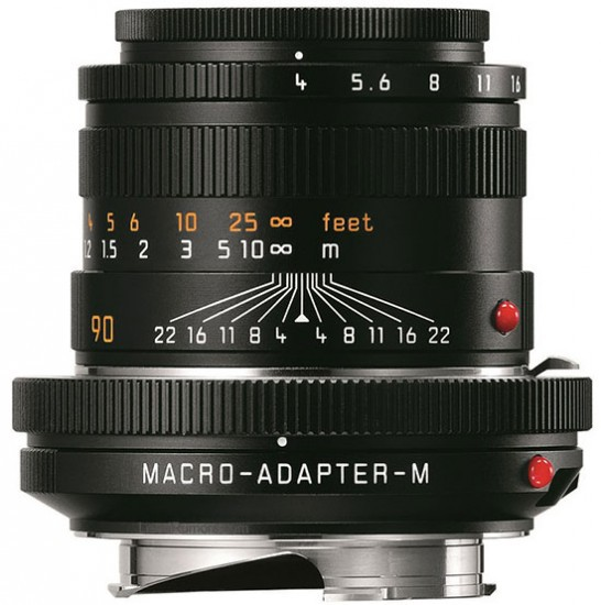 Leica Macro-Elmar-M 90mm f/4 Objektiv Set 11629