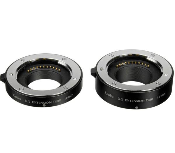 Kenko Zwischenring Set 10/16mm für MFT - Frontansicht