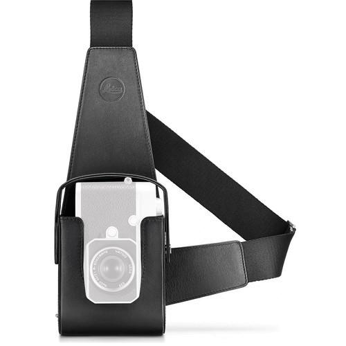 Leica Lederholster schwarz für Leica M10 - Frontansicht