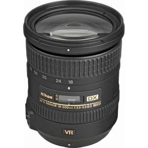 Nikon AF-S DX Nikkor 18-200mm f/3.5-5.6 G ED VR II Objektiv