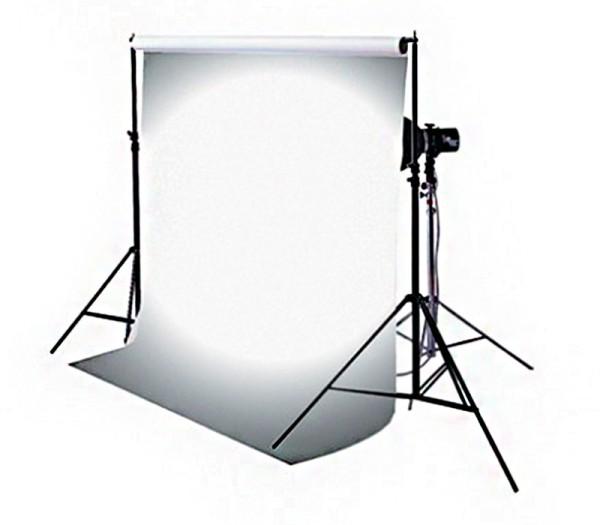 Multiblitz Hintergrund 1.35x5.4m Trans-Lum - Frontansicht